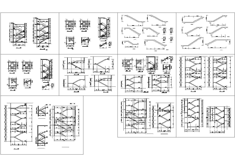 楼梯大样图CAD图图片1