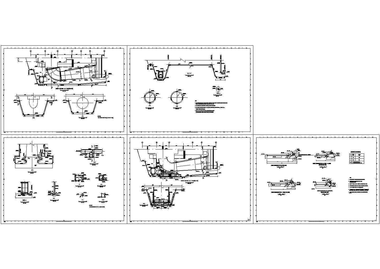 尾水管配筋指导设计总图图片1