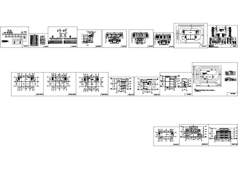 南网110kV标准设计方案cad系统设计图图片1