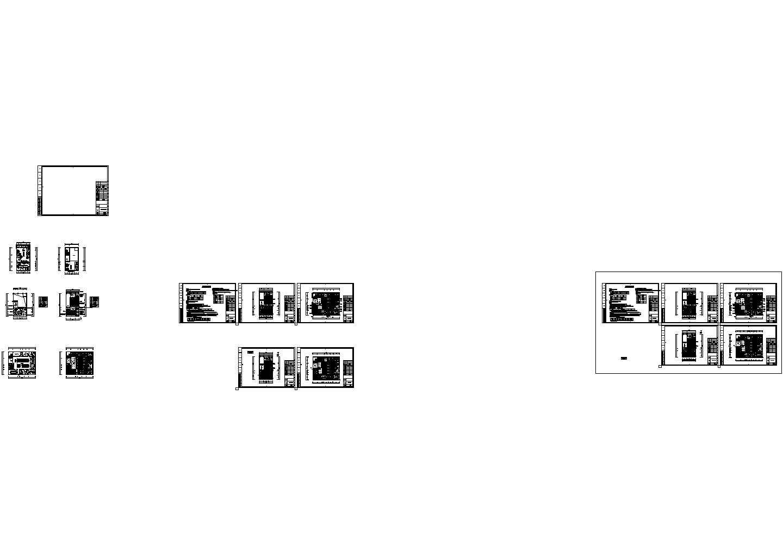 [江西]商业办公楼多联机空调系统设计暖通施工图图片1