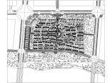 南方某小区规划设计总平面图图片1