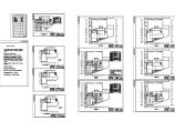 上海某办公楼电气设计方案CAD图图片1