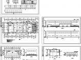 某钼业公司养路队755.29平方米钢结构检修厂房设计cad建筑施工图(含设计说明)图片1