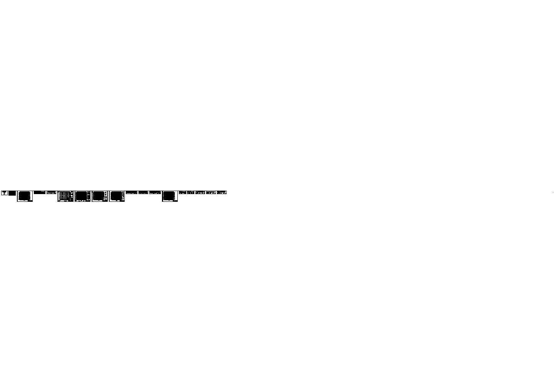 河南某单层拱形钢结构厂房结构施工图图片1