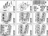 7层U型小区组团住宅给排水施工图(长50.1米 宽48米)图片1