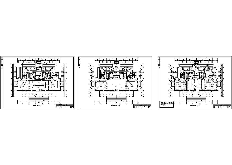某大学图书馆电气设计图纸全套图片1