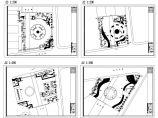 生肖广场绿化种植CAD平面图图片1