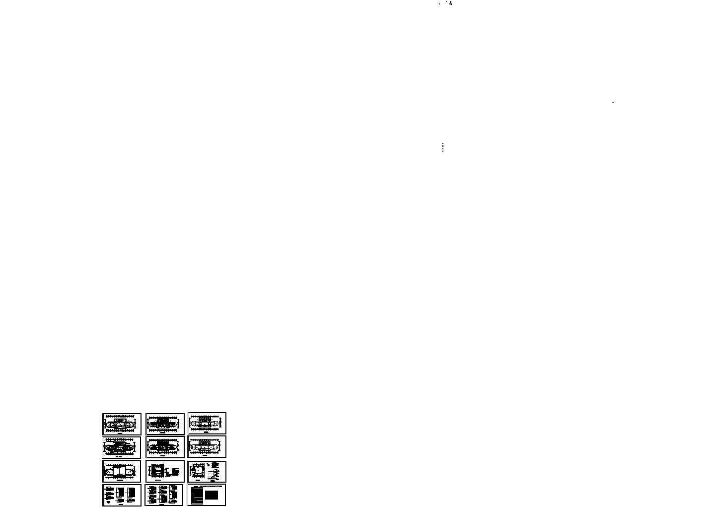 某小区电气施工设计方案图图片1