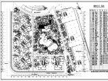 体育公寓绿化种植CAD平面图(含植物材料表)图片1