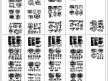 5套别墅装修设计建筑结构施工cad图纸图片1