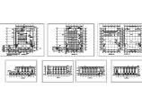 某多层工业厂房设计cad全套建筑施工图(标注详细)图片1