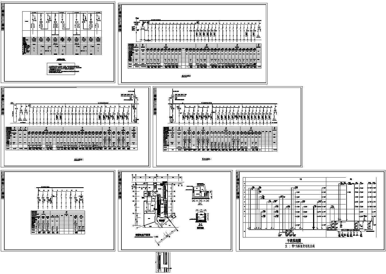 华天五星级高低压成套电气设计方案CAD图图片1
