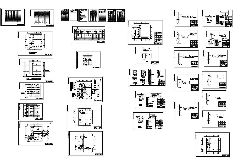 20t锅炉工程电气施工设计图纸图片1