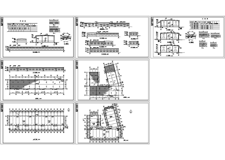 单层厂房建筑设计施工图( 长108.93米 宽18米)图片1