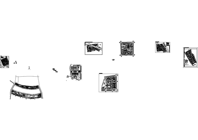广州市芳村区五眼桥农民生态新村多套建筑设计规划图图片1