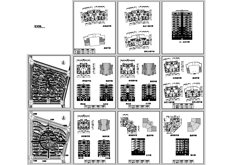 小区规划设计图总平面图配套建筑方案图图片1
