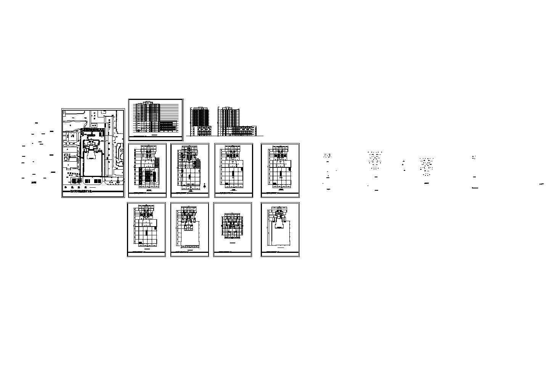 某商住楼建筑设计方案图纸(带效果图)图片1
