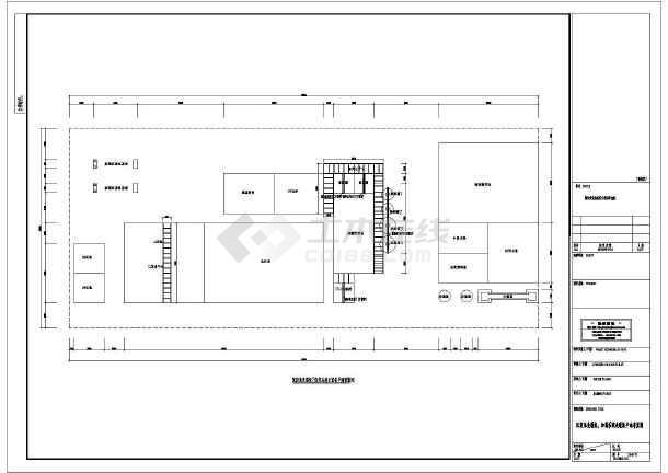 某钢厂钢铁废水处理给排水设计CAD图纸-图一