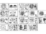 二层框架别墅全套建筑结构施工图(含设计说明)图片1