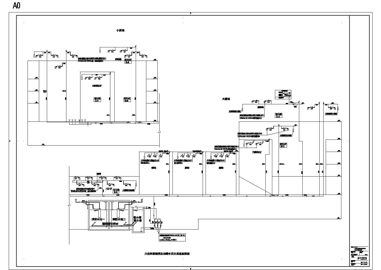 P1203大空间智能型主动喷水灭火系统原理图图片1