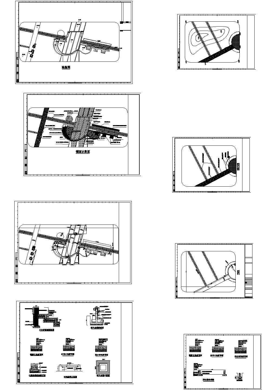 花园园林规划设计CAD施工图图片1