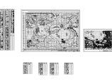 某公园 绿化种植CAD平面图(含植物材料表)图片1