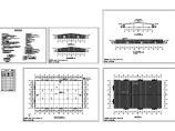 单层35150平米三跨门式钢架轻钢结构钢构成品厂房建筑施工图【平立剖 目录 说明】图片1
