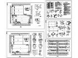 2层15300平米大型轻钢结构厂房建筑施工图( 长110.61米 宽109.41米)图片1