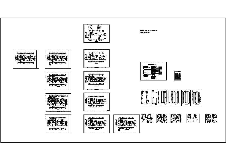 32层住宅楼给排水施工图(长50.9米 宽20.05米)图片1