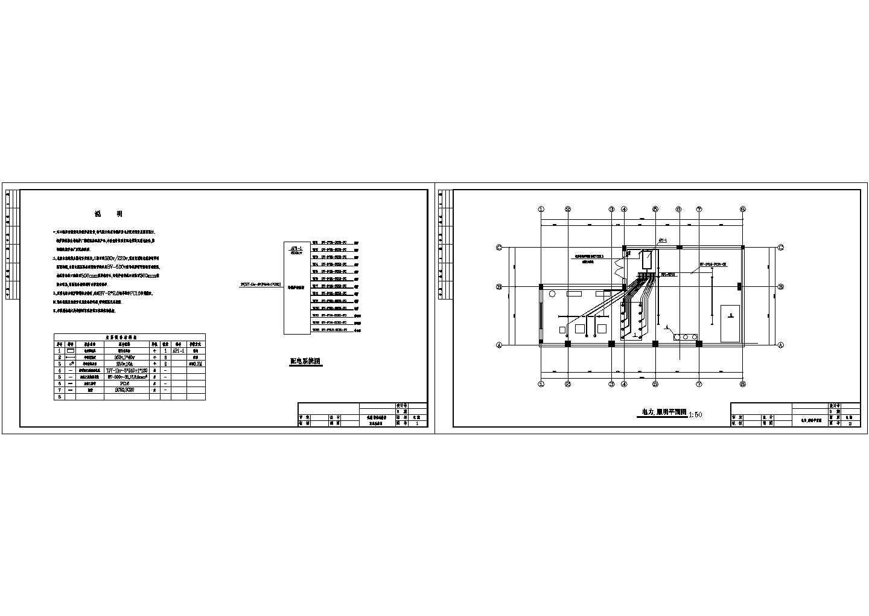 电锅炉配电系统及平面图图片1