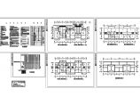 联排别墅电气设计施工CAD平面图图片1