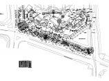 世纪村绿化种植CAD平面图(含植物材料表)图片1
