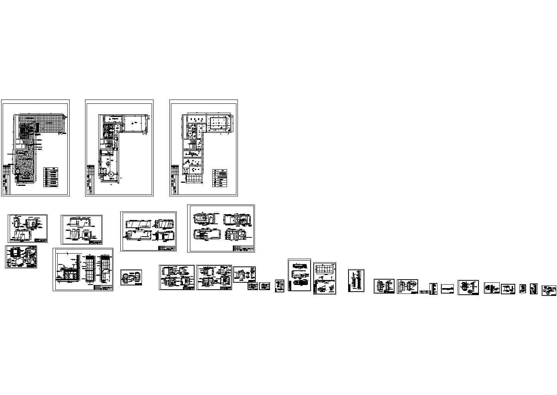 山东泰安某酒店室内装修设计图纸图片1