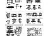 一套完整的别墅建筑结构施工cad图纸图片1