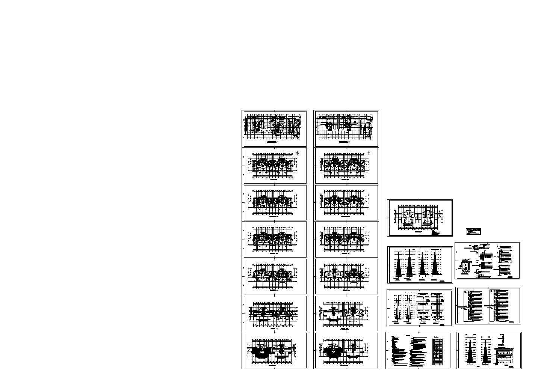 小高层住宅电气施工全套图,共21张图片1