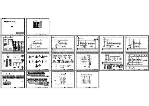 水电站综合自动化系统工程同期图-图一