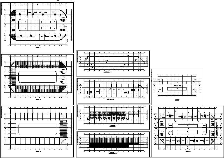 某农贸市场CAD平面图图片1