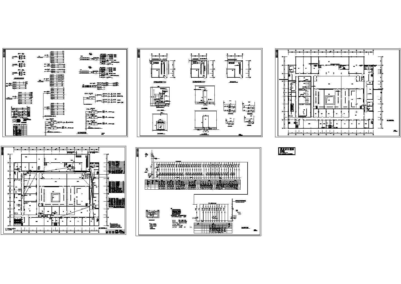 学校综合楼配电系统图图片1