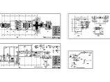 某城市污水处理厂工艺部分设计cad全套图纸(大院设计,含设计变更单)图片1