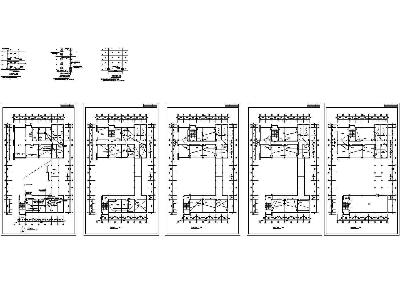 某五层办公楼弱电施工图图片1