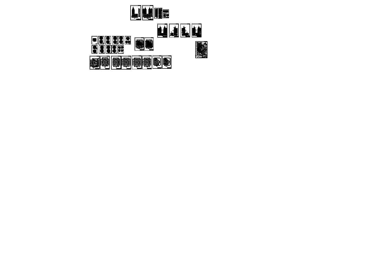 金马大厦建筑方案图图片1