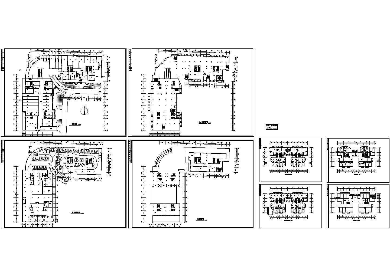 多层别墅电气设计施工图纸图片1