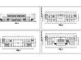 长54.6米 宽13.5米 3层1800平米汽车站建筑方案设计图图片1
