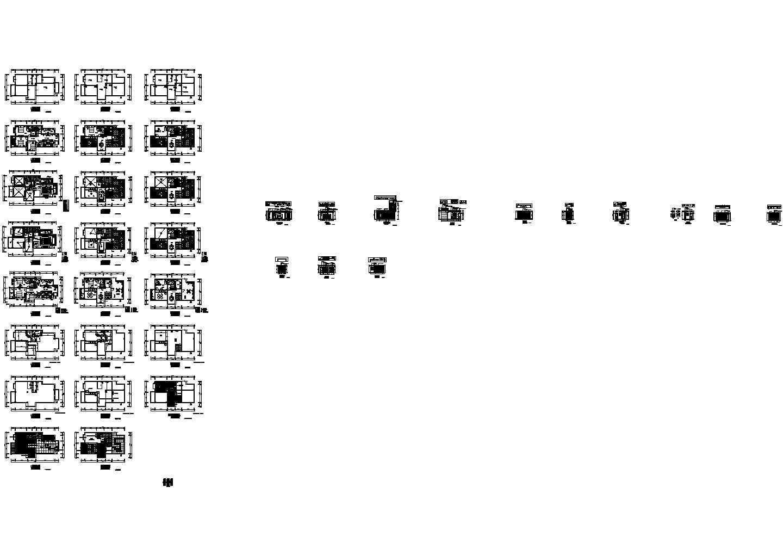 某欧式独立别墅CAD施工图图片1
