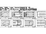单层钢结构厂房电气设计施工图图片1