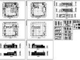 3层学校食堂全套建筑施工图(长62米 宽59.5米)图片1