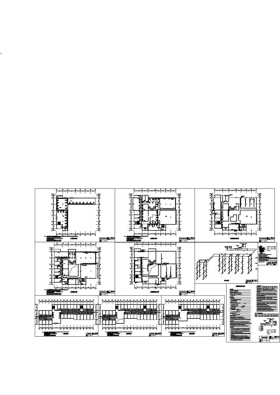 某5200平方米三层综合楼暖通空调设计cad施工图(含设计说明)图片1