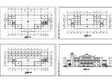 长47.4米 宽16.5米 3层1778.92平米小型汽车站建筑方案设计图图片1
