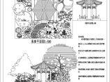 风景亭景观设计图纸图片1
