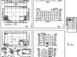 某四层工业厂房设计cad全套建筑图纸(大院设计)图片1
